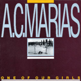 A.C. Marias 'One Of Our Girls' LP artwork