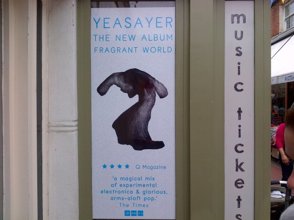 Yeasayer - Fragrant World poster