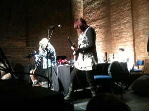 Throbbing Gristle, Village Underground 23/10/2014 - photo source unknown