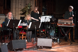 Will Gregory Moog Ensemble, All Saints Church, Hove 15/05/2014 - (c) Andy Sturmey