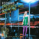Richard X 'Richard X Presents His X-Factor Vol. 1' CD artwork