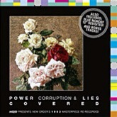 Various Artists 'Power, Corruption & Lies Covered' CD artwork