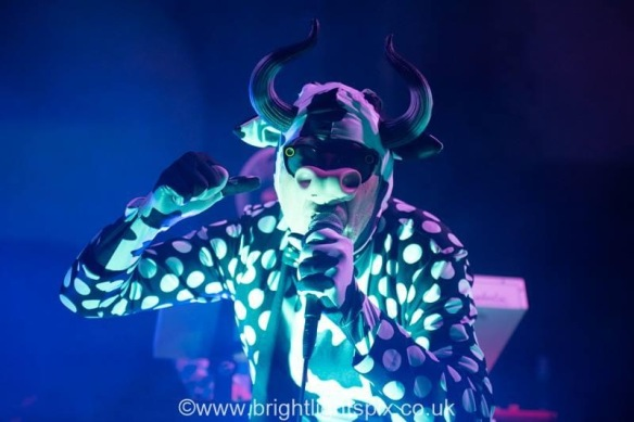 The Residents, St. George's Church, Kemp Town, Brighton February 7 2019. Photo (c) Brightlightspix